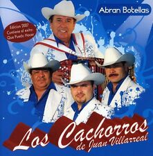 Los Cachorros de Juan Villarreal - Abran Botellas [New CD]