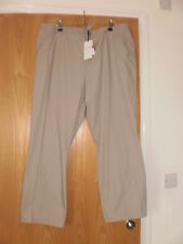M & S 100% cotton classic Trousers Size 14 Long BNWT