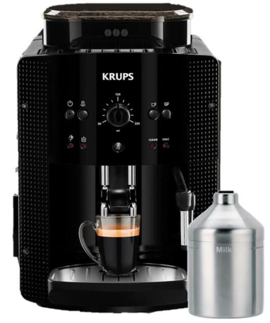 Krups Machine à Café Ea81m8 Machine à Café Incl. Edelstahl-Milchbehälter