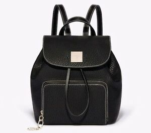 Bnwt Black Casual Bag Zaino 69 £ Rrp University Paris Small Fiorelli School AwtqrXA