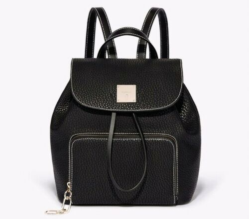 Casual 69 School Bnwt Black £ Fiorelli Rrp Zaino University Paris Bag Small 66XBwR