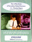 English (standard Format): 11 Plus Practice Papers: v. 2 by Mark Chatterton (Paperback, 2001)