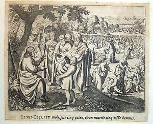 Gravure-Etching-Kupferstich-Bible-de-Royaumont-Sebastien-Leclerc-Jesus-Christ-5