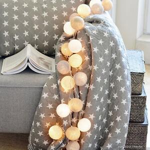 20-Lamp-Vintage-Pastel-Cotton-Ball-Patio-Party-String-Lights-Fairy-Wedding-Decor