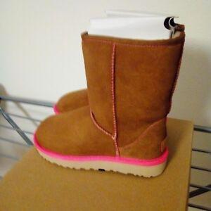 Details zu UGG Boots Classic Short Neon! Original! NEU! EU 36 US 5 chestnut!