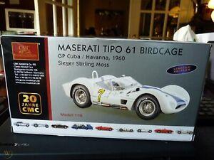 Maserati Tipo 61 Birdcage GP Cuba/Havanna 1960 Sieger / Stirling M-149 1:18