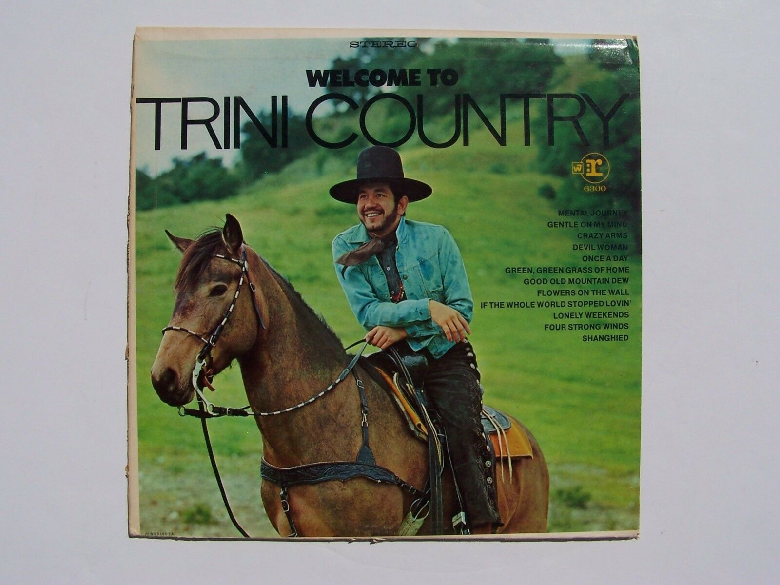 Trini Lopez - Welcome To Trini Country Vinyl LP Record