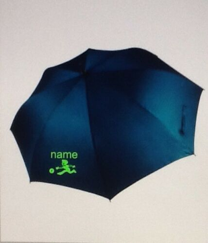 Personalised Storm Umbrella Bowls Golf Sport Corporate event,2 sided