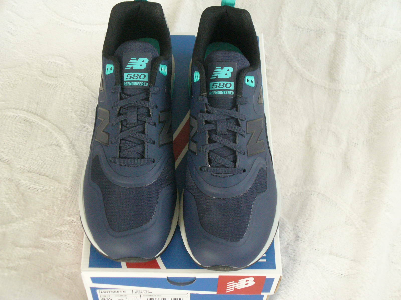 AUTHENTIC;New Balance MRT580TN Navy Teal Grey Men's Lifestyle shoes,Sz9.5 NWB