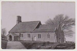 Lancashire postcard - Heysham Church, near Morecambe - P/U 1905 (A651)
