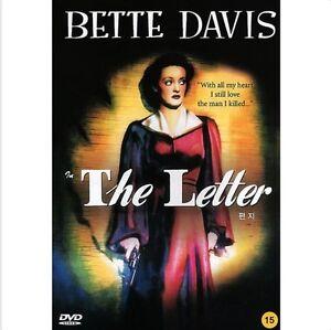 The Letter 1940 DVD Bette Davis New & Sealed