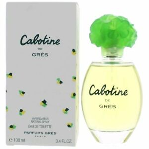 Cabotine-Perfume-by-Parfums-Gres-3-4-oz-EDT-Spray-for-women-NEW