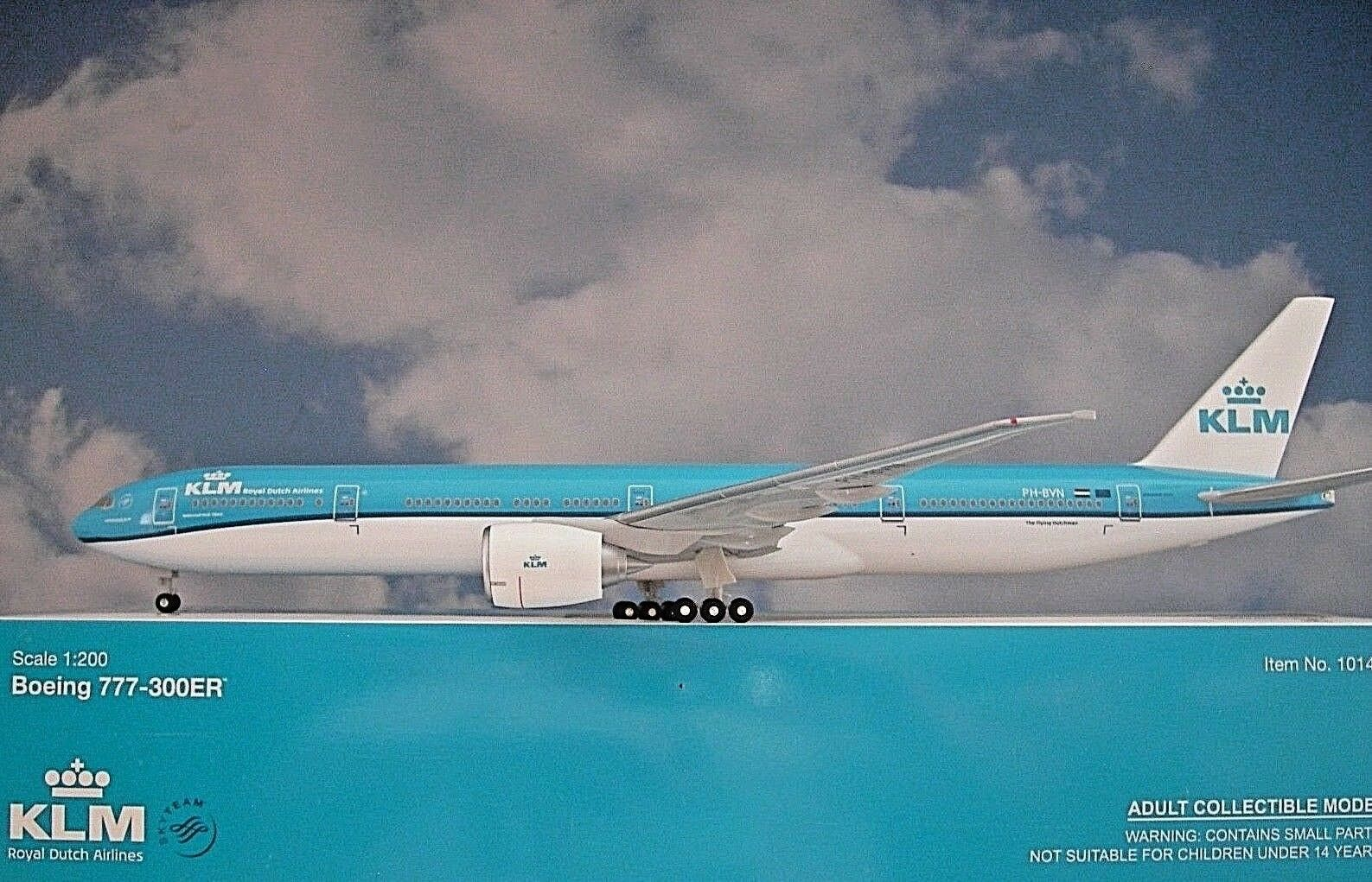 Hogan Wings 1:200 Boeing 777-300ER Klm Ph-Bvn 10147    Ailes de Herpa Katalog | Une Performance Supérieure