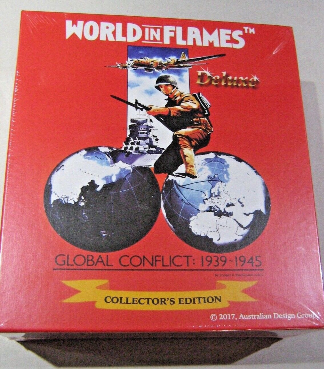 Deluxe World in Flames Collector's Edition (New)
