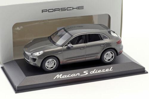 Porsche Macan S Diesel Baujahr 2013 achat grau 1:43 Minichamps
