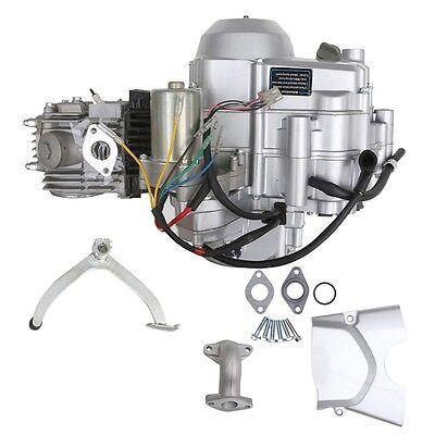 125CC SEMI AUTO ENGINE MOTOR W/ REVERSE ATV QUAD GO KART 3+1 4-STOKE XR50  CRF50 | eBay