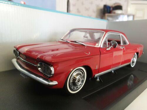 Sunstar - 1963 CHEVROLET CORVAIR-Peinture Rouge-échelle 1/18 voiture modèle - 1481