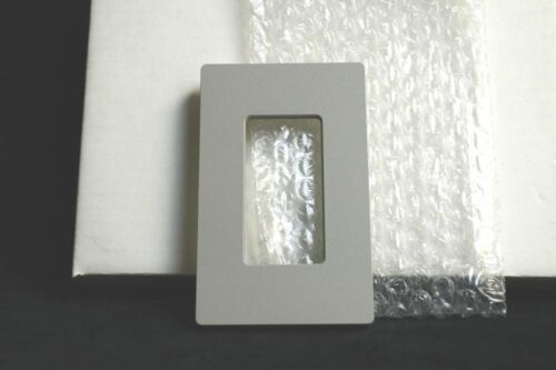 Gray NEW in Box SC-1-GR Lutron Claro Single-Gang Coverplate