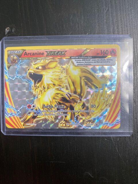 Arcanine BREAK Ultra Rare NM Promo XY180 Pokemon TCG