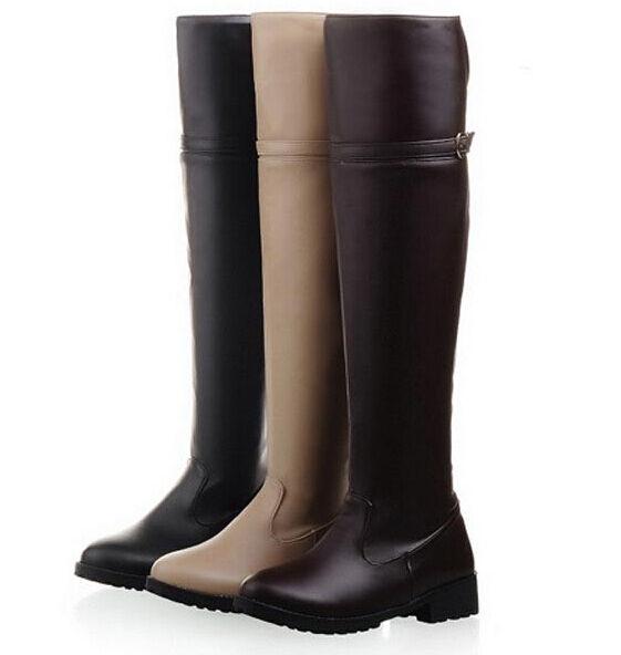 stiefel klassiker frau schenkel winter komfortabel up knie frau absatz 3 cm 9086