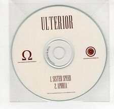 (GN962) Ulterior, Sister Speed - DJ CD