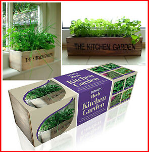 Image Is Loading Unwins Herb Kitchen Garden Kit Grow Your Own