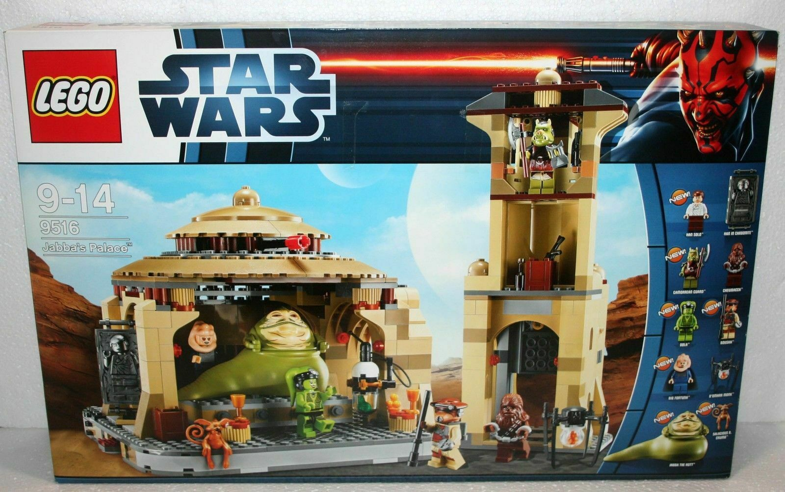 PAS DE PAYPAL  LEGO STAR WARS JABBA'S PALACE NEUF NEUF NEUF NEW SEALED  NO PAYPAL 28436d