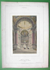 ARCHITECTURE-PRINT-COLOR-Italy-Interior-Chapel-of-S-Domenico-at-Bologna