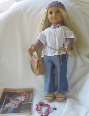 RETIRED American Girl Doll Julie Original Meet Outfit Accessories Purse ONLY