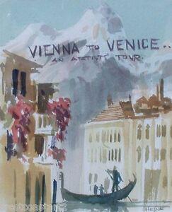 Harry-Heine-Original-Painting-of-Venice-Canadian-Listed-Artist-1928-2004-RSMA
