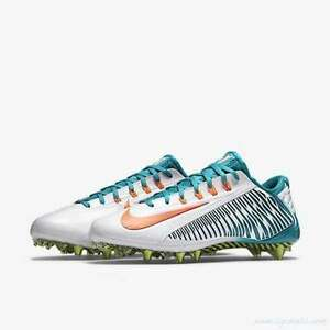 10455a1263e8 Nike Vapor Carbon 2.0 TD Football Cleats Miami Dolphins 657441-117 ...