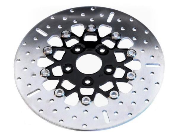 EBC Brakes RSD014 2.25 Stainless Steel Rear Narrow Band 10 Button Brake Rotor