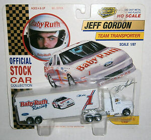 Jeff Gordon 1992 Road Champs Baby Ruth Team Transporter 1 ...