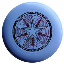 NEW Discraft ULTRA-STAR 175g Ultimate Frisbee Disc - LIGHT BLUE