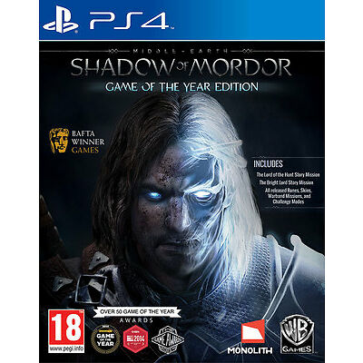 Middle-earth:Shadow of Mordor - GOTY PS4