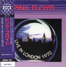 PINK FLOYD LIVE IN LONDON 1970 CD MINI LP NEW OBI+JAPANESE BOOKLET+GIFT, OBI