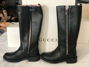 girls leather riding boots
