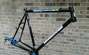 NOS-90-039-s-Mongoose-IBOC-Zero-G-SX-Frame-Double-Butted-Tange-Super-Lite-MTB