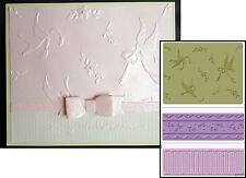 Sizzix embossing folders BIRDS & LACE embossing folder set 657760 wedding,border