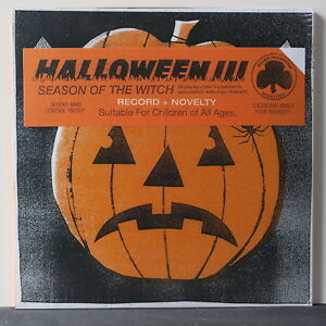 039-HALLOWEEN-3-Season-Of-The-Witch-039-Soundtrack-Ltd-CLEAR-BLACK-Vinyl-LP-NEW
