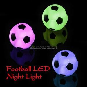 Color changing led xmas mood lamp night lamp football light party