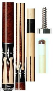 NEW-Players-G-2290-Pool-Cue-G2290-FREE-Joint-caps-Graphic-Series-No-Wrap