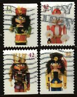 Scott #4360-63 Used Set of 4 Christmas Nutcracker Stamps