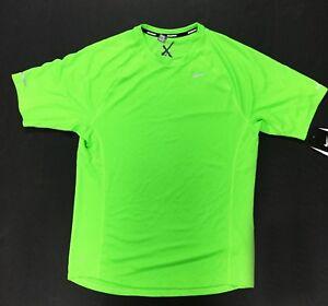 Nike Mens Dri-Fit UV Miler Running Athletic Training Shirt 404650 ... 0c8747aac3184
