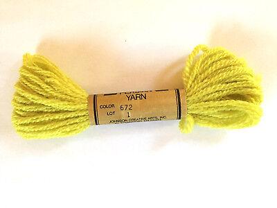 Needlepoint Yarn Paterna Paternayan Persian Wool #645 Lot 4 7.4 M Skein 8 Yards