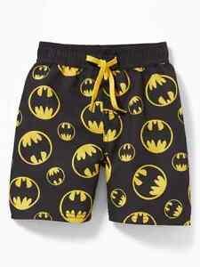 25f57a15d9 NWT Old Navy DC Comics Superhero Batman Swim Board Shorts Swim ...