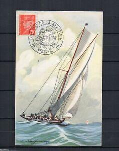 Carte Postale - Salon de la MARINE Paris 1943 Pétain Bateau yacht grande classe   eBay