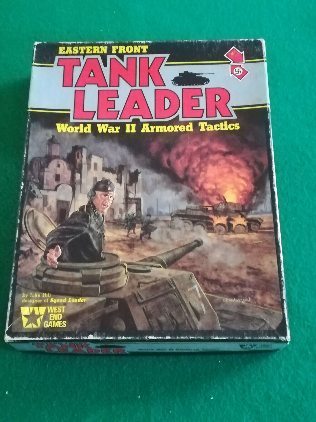 EASTERN FRONT TANK LEADER  -  WEST END GAMES