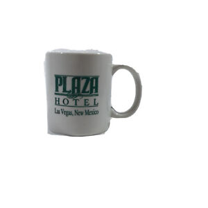 LAS VEGAS, NM PLAZA HOTEL Mug Pre-owned COLLECTIBLE