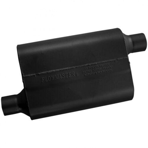 """Flowmaster 42443 Original 40 Series Muffler 2.25/"""" Offset Inlet//Offset Outlet"""